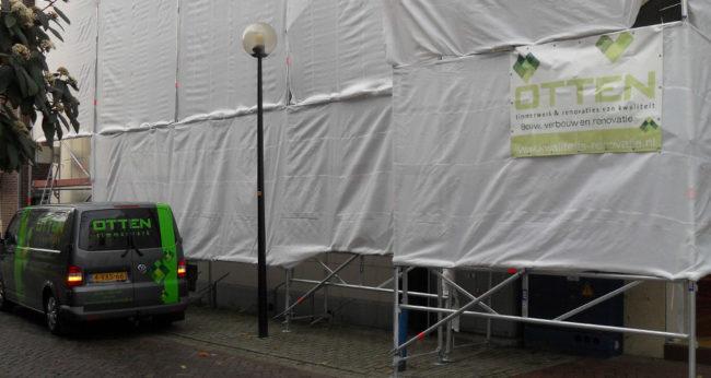 Onderhoud Aan Winkelpand In Almelo