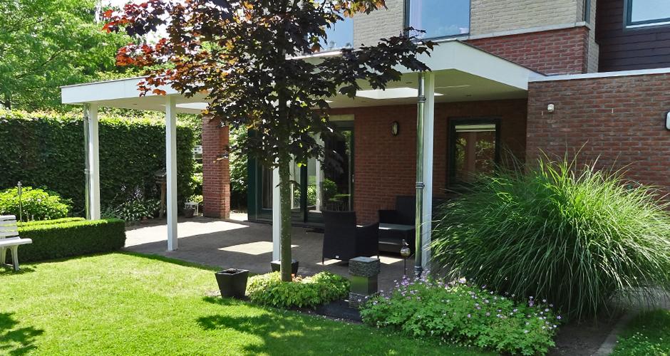 Terrasoverkapping almelo otten timmerwerk renovaties van kwaliteitotten timmerwerk for Terras modern huis